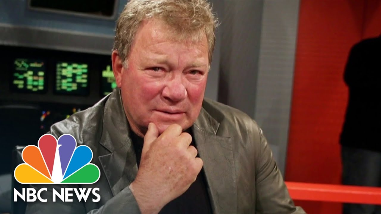 william shatner to boldly go to space on blue origin rocket